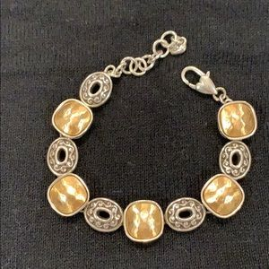 Brighton bracelet with gold and silver detail